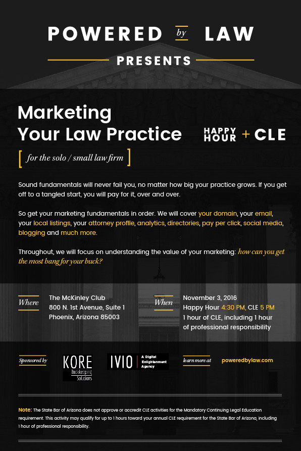 Marketing lawyer cle